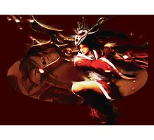 Bloodmoon Akali League of legends Photographic Print