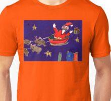 Crazy Santa Unisex T-Shirt