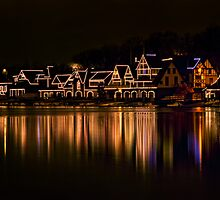 Boathouse Row by Claudia Kuhn