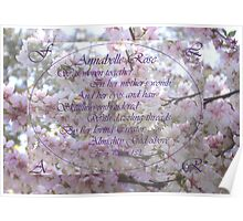 Medium Poster - To be Personalised -You are Precious - from Psalm 139 Personalised  Poster