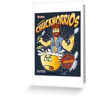 Chucknorrios Greeting Card
