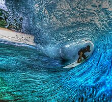 Banzai Pipeline HDR I by David Rozansky
