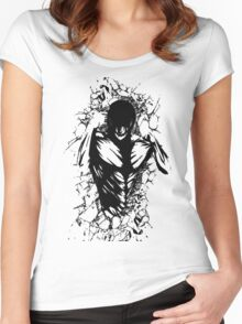 Attack on Wall Women's Fitted Scoop T-Shirt