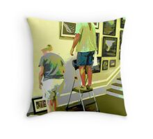 Hanging Day Throw Pillow