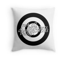 Monstrous things Throw Pillow