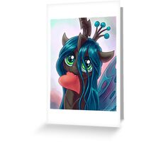 Philly Queen Chrysalis Heart Greeting Card