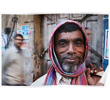 Fragments of Richness: An Indian Expose - friendly streets Poster
