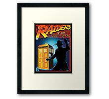 RAIDERS OF THE LOST TARDIS  Framed Print