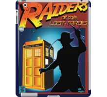 RAIDERS OF THE LOST TARDIS  iPad Case/Skin