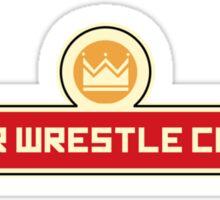 Super Wrestle Champs Sticker