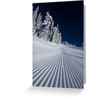 Crispy - Big White Ski Resort Greeting Card