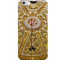 Richly Ornamented Altar Dome in St John's Co-Cathedral, Valletta, Malta iPhone Case/Skin