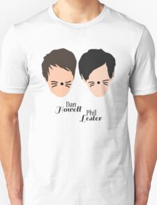 Phil Lester and Dan Howell (with text) T-Shirt
