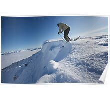 Dropping In - Kicking Horse Poster