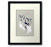 The Butterfly Identity Framed Print
