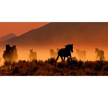 Nevada's High Desert Country  Photographic Print
