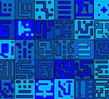 konstruct-blu by vincent bruno