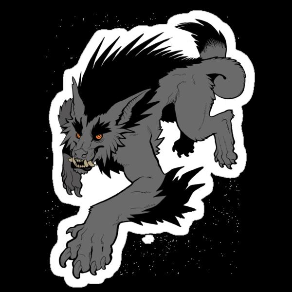 Werewolf by missmonster