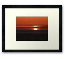 An Excuse for a Sunrise Framed Print