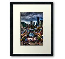 GE Plaza Vancouver 2010 Framed Print