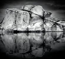 Sounds of Silence #2 - Glacier  (Jökulsárlón) Lagoon Iceland  by angelena rebori