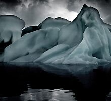 Sounds of Silence #8 - Glacier  (Jökulsárlón) Lagoon Iceland  by angelena rebori