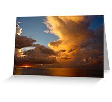 Sunrise at Mtwapa, Kenya Greeting Card