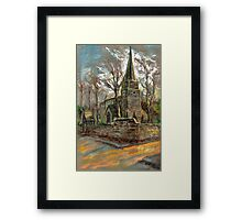 St Michael Church in Breaston, Derbyshire, UK Framed Print