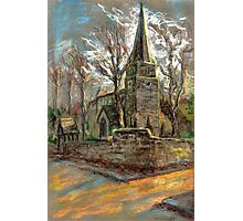 St Michael Church in Breaston, Derbyshire, UK Photographic Print