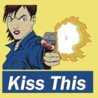 Kiss This (blue) by stoneham