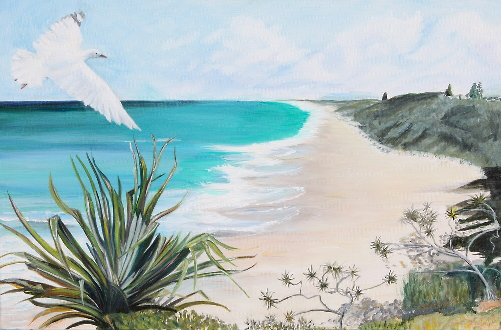 Sunshine Beach, Noosa. by gunnelau