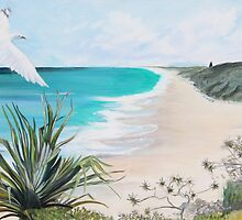 Sunshine Beach, Noosa. by gunnelau