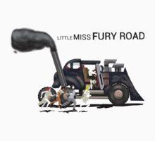 little miss furry road Kids Tee