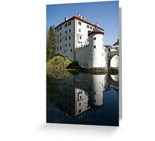 sneznik castle, Slovenia Greeting Card