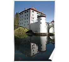 sneznik castle, Slovenia Poster
