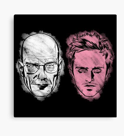 WHITEMAN & PINKMAN Canvas Print