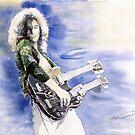 Led Zeppelin Jimi Page by Yuriy Shevchuk