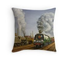 West Coast Trial Throw Pillow