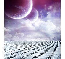 A Winter Paradise Photographic Print