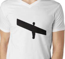 Angel of the North Mens V-Neck T-Shirt