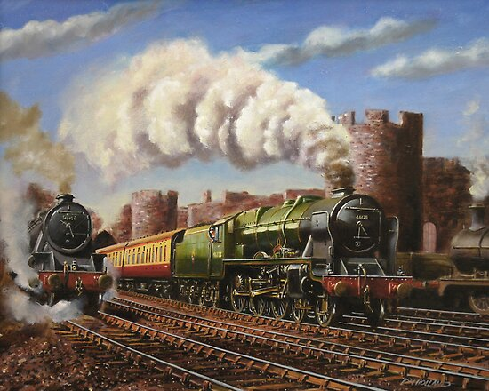 Welsh Coast Express by Tom  Holland