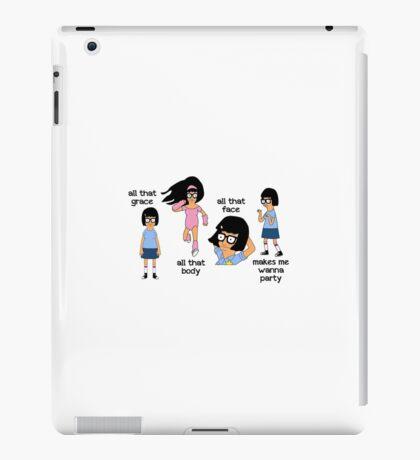 Tina - Bobs Burgers-  Poster iPad Case/Skin