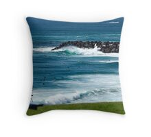 Simply a lovely day... Throw Pillow