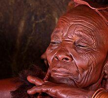 Himba Elder by Olwen Evans
