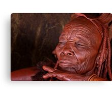 Himba Elder Canvas Print
