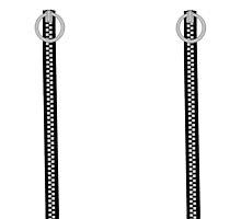 Goth Punk Zippers Black by Radwulf
