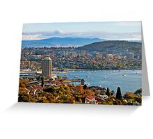 HOBART, TAS   Greeting Card