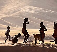 Himba Children | Namibia by Olwen Evans