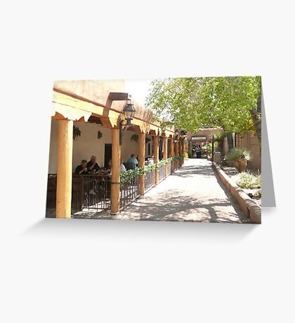 Albuquerque Streetscape. Greeting Card