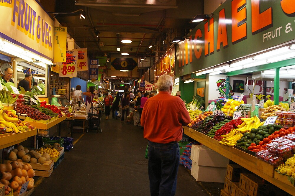 In the Adelaide Market by janfoster